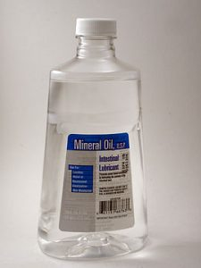 mineral oil for marble oil absorbency test